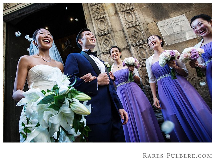 Barcelona wedding photography iglesia sant sever