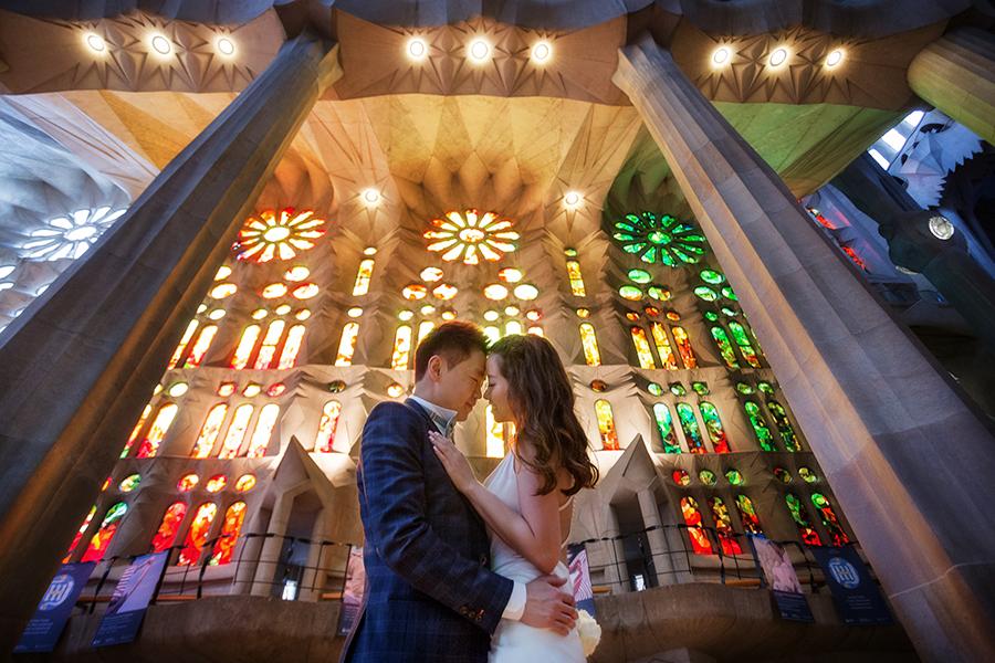 barcelona prewedding