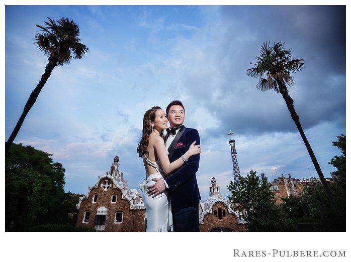 Barcelona park guell prewedding