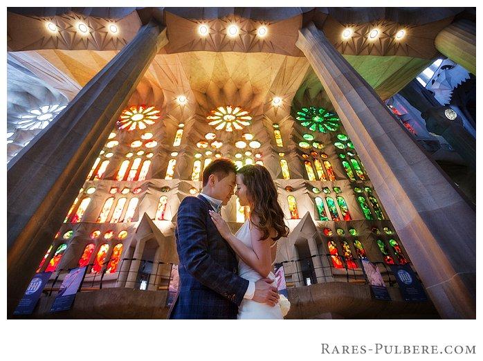 Barcelona Sagrada Familia prewedding