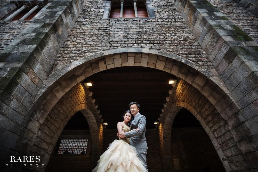 barcelona prewedding gothic quarter