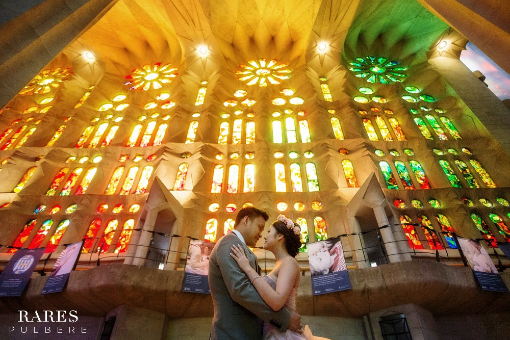 sagrada familia barcelona prewedding