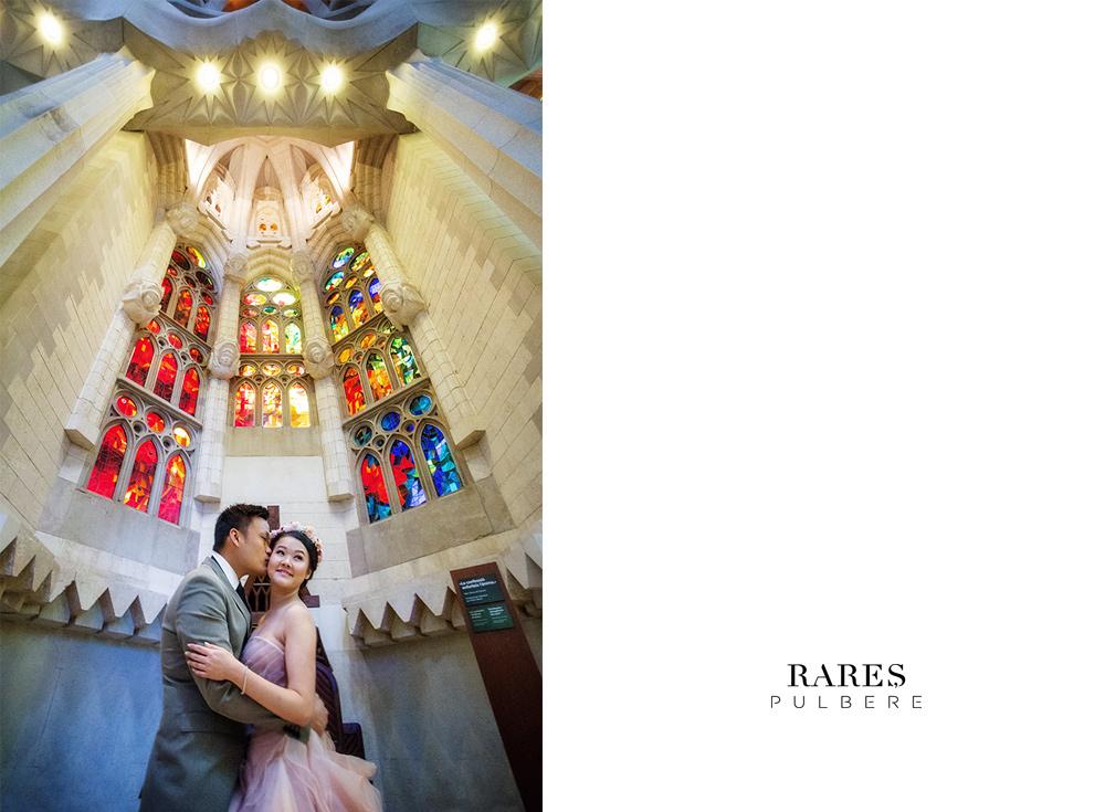 barcelona prewedding sagrada familia