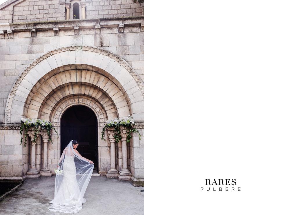 barcelona elopement Monasterio en Poble Espanyol