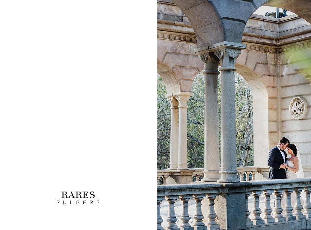 barcelona elopement park de la ciutadella