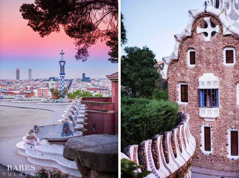 Barcelona prewedding photographer park guell