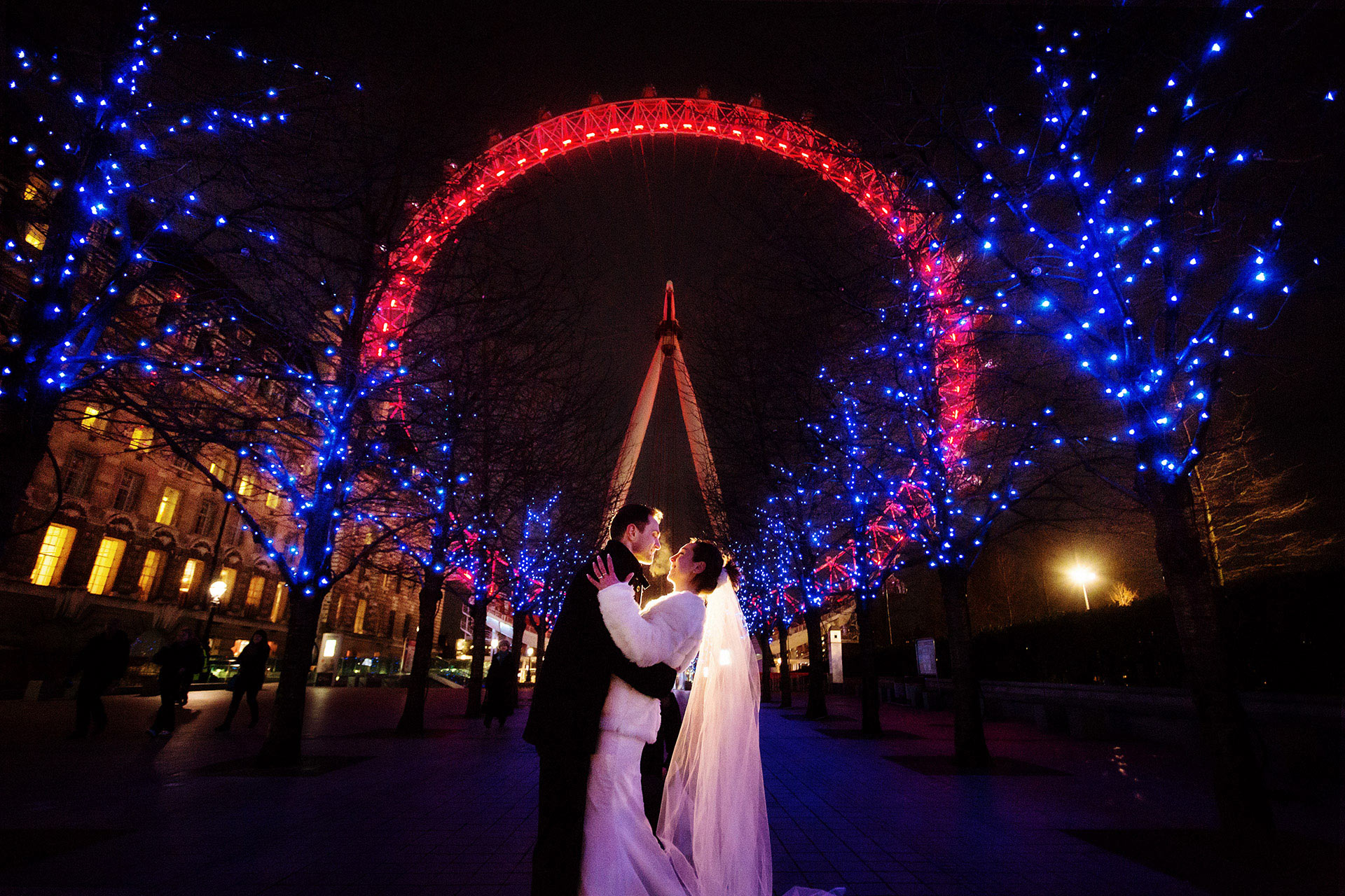 london wedding photographer - the london eye
