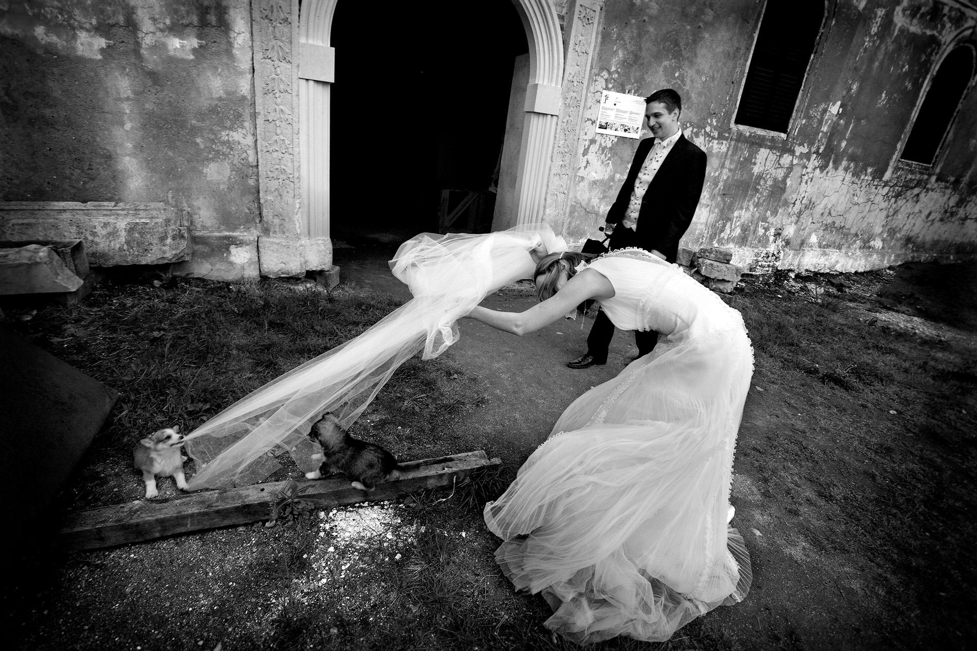 barcelona wedding photography funny moments